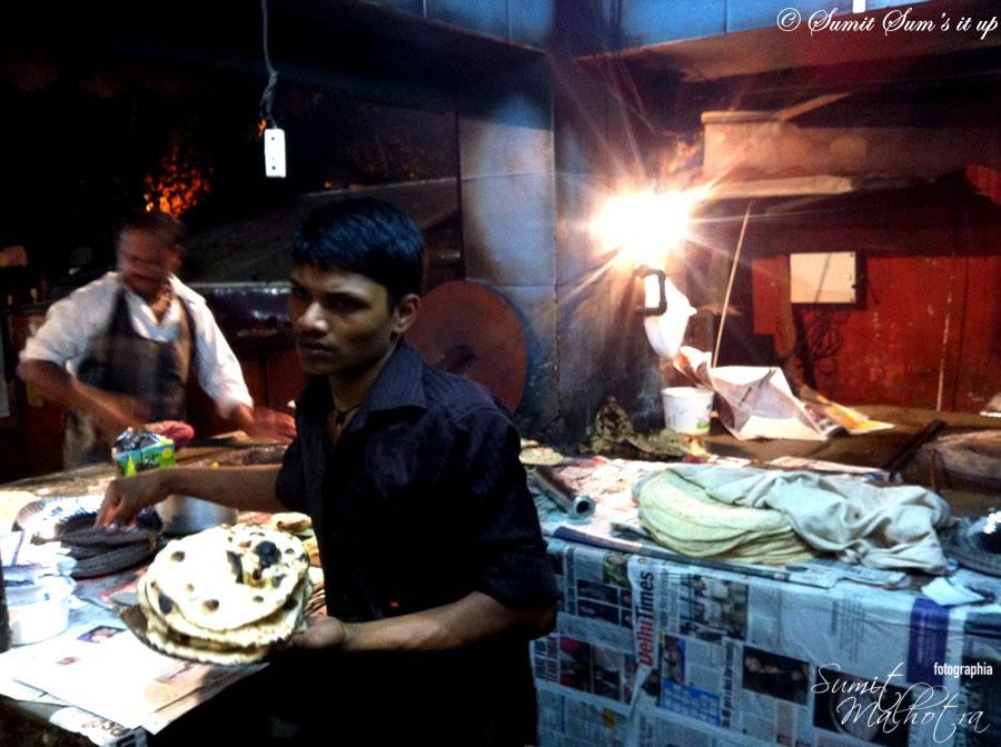Tandoor at Rajinder Da Dhaba - Rotis, Naans & Roomalis