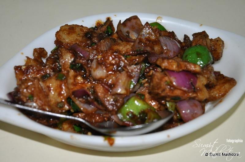 Pork Chili Dry @ Dim Sum, Shimla