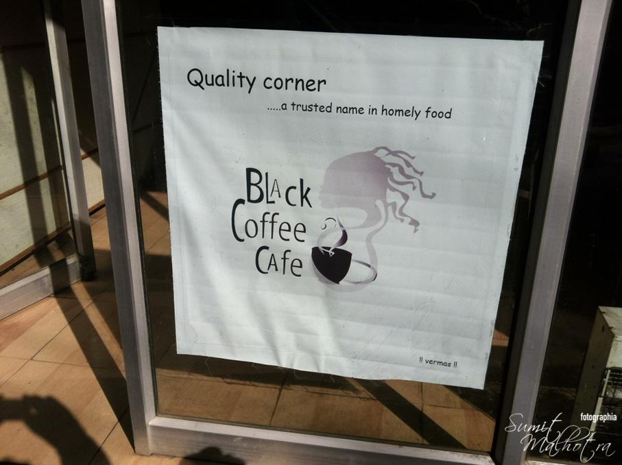 Black Coffee Cafe, Sunni, Tattapani, Himachal Pradesh