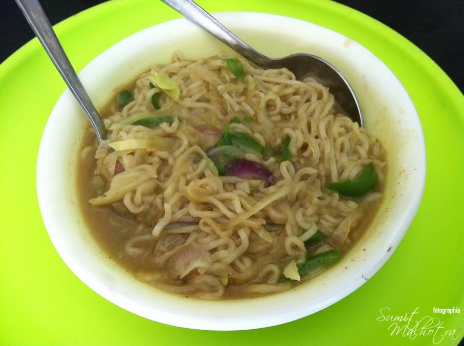 Maggi!! What else? And Superb