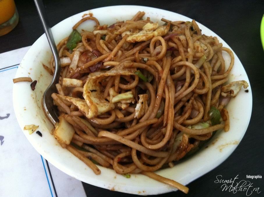 Highway Noodles at Black Coffee Cafe, Sunni