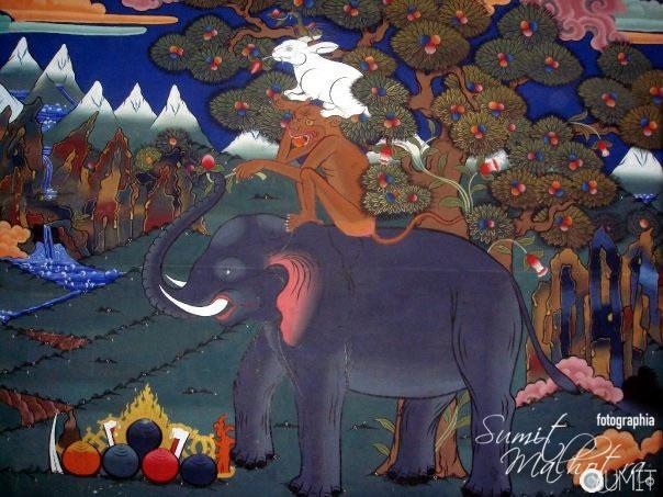 Dependencies - Wall Mural at Paro Dazong