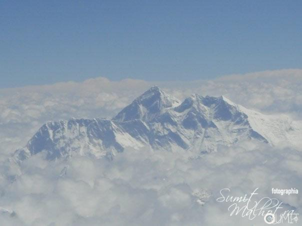 Mount Everest from 30000 Feet