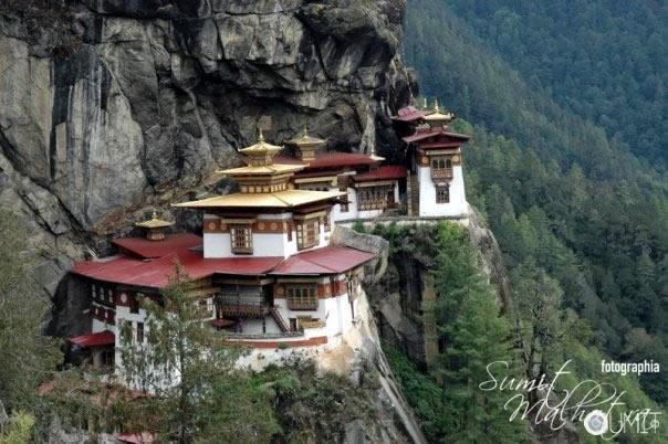 Tatsang Monastry, Paro, Bhutan