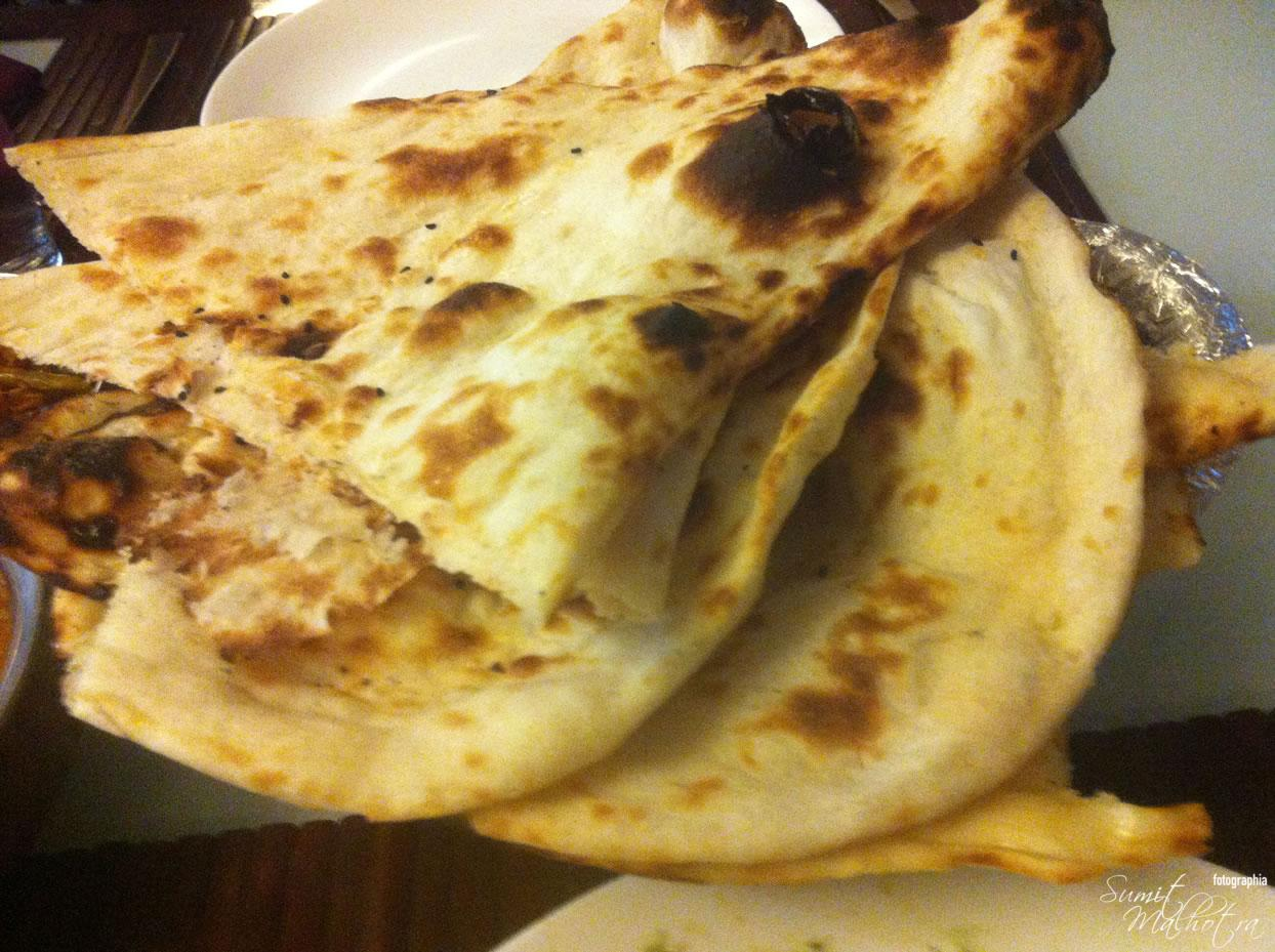 Mughal Mahal: Crispiest Naans Ever