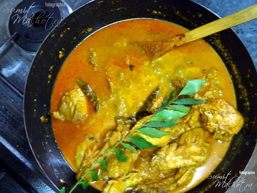 Time to remove the East Indian Bottle Masala Chicken Curry