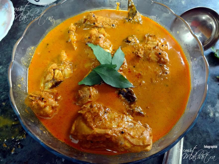 Presenting East Indian Bottle Masala Chicken Curry