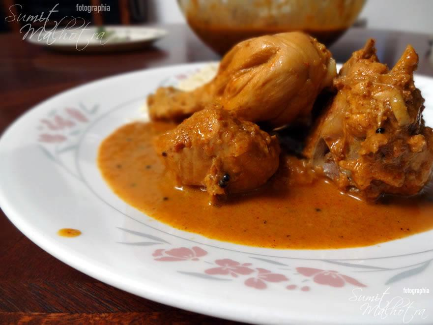 East Indian Bottle Masala Chicken Curry