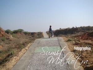 Cycling Path at Aravali Biodiversity Park