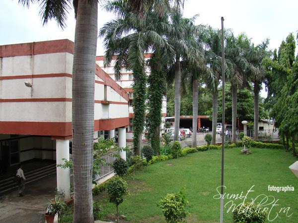 The alma mater - IHM Bhopal