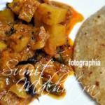 Serve Lauki Aloo Ki Sabzi with Hot Paranthas