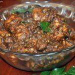 Ghee roast pepper chicken recipe or chicken kali mirch