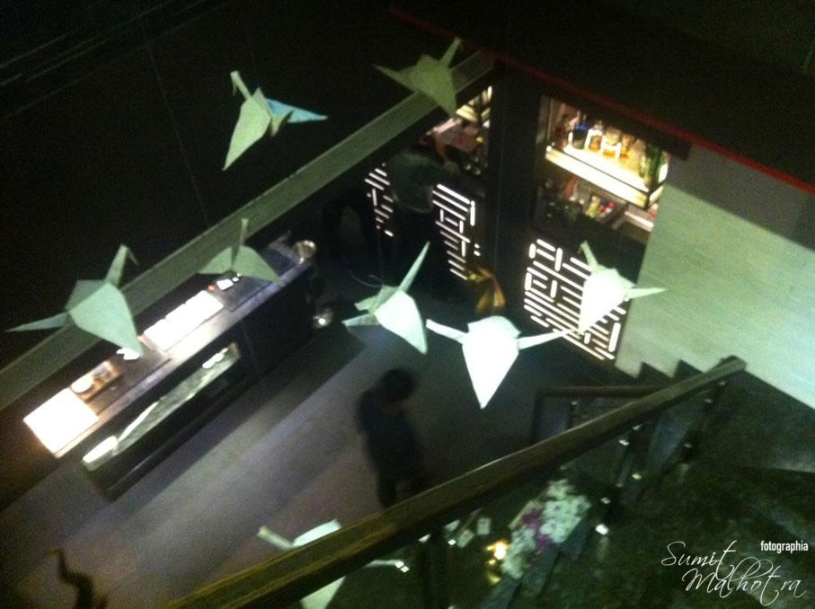 Soy Khan Market Interiors: Origami Birds