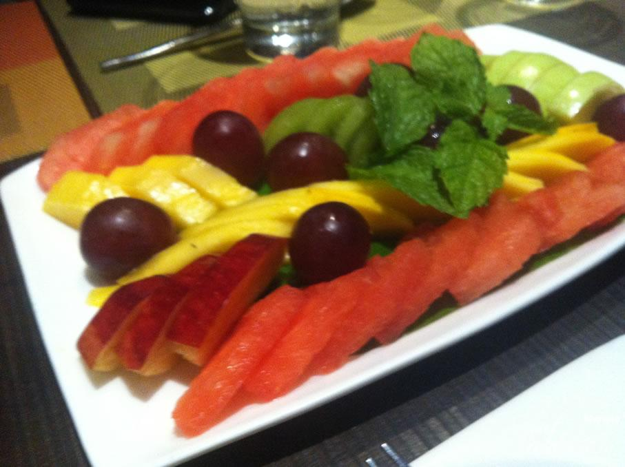 Mixed Fruit Platter @ Soy Khan Market