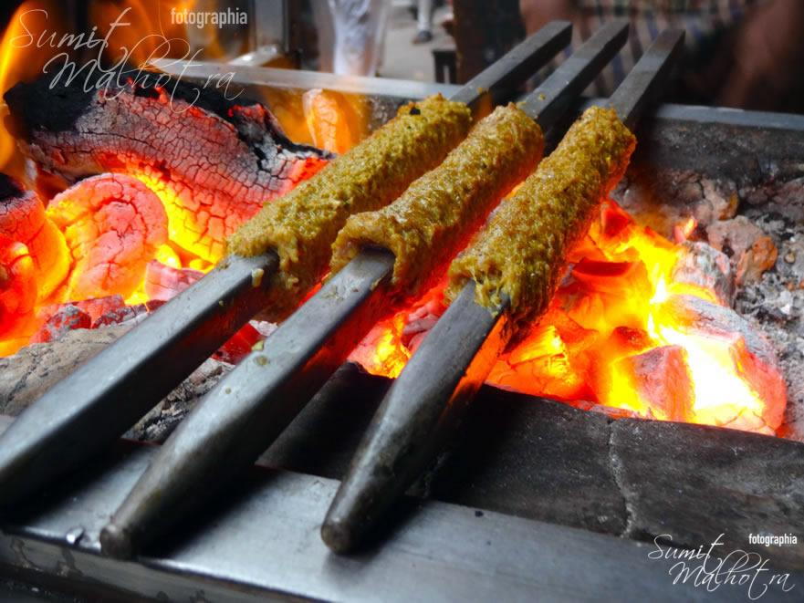 Al Jawahar - Seekh Kebabs on Charcoal Grill