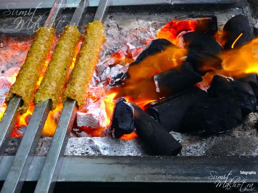 Seekh Kebabs @ Al Jawahar