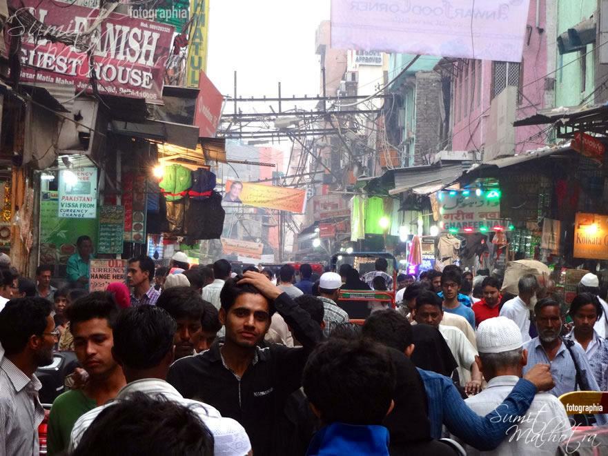 Matia Mahal Bazaar, Jama Masjid