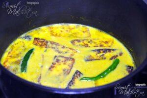 Chaman Kaliya - Simmer on low heat