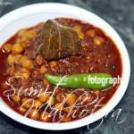 Serve East Indian Bottle Masala Chole with Rice or Paranthas