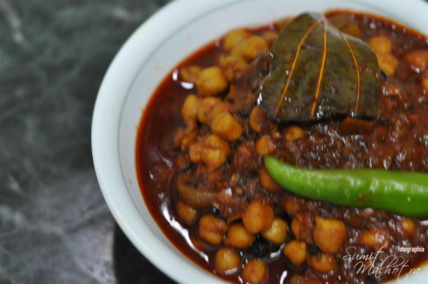 East Indian Bottle Masala Chole Recipe