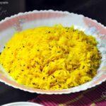 Saffron Rice Kashmiri Style, Tehri Recipe