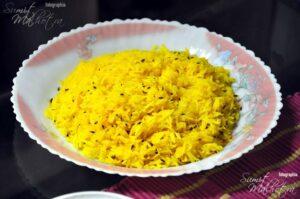 Saffron Rice Kashmiri Style