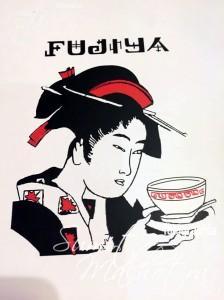 Fujiya - Menu Cover