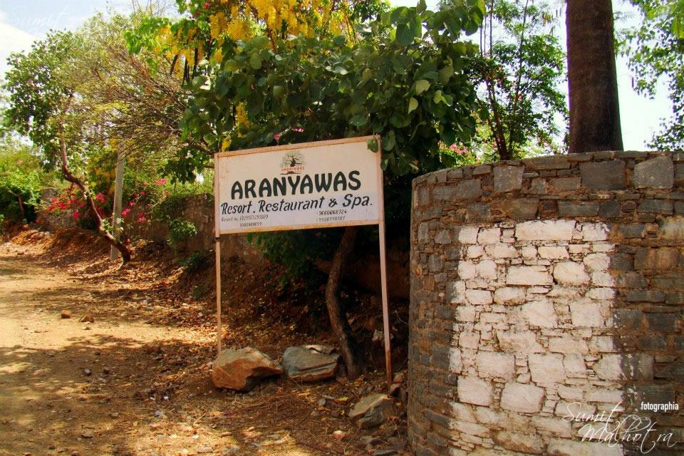 When you are travelling from Ranakpur to Udaipur, Aranyawas is on the right hand side and a great place to break your journey. Apart from good food, they have cottages and camps also.