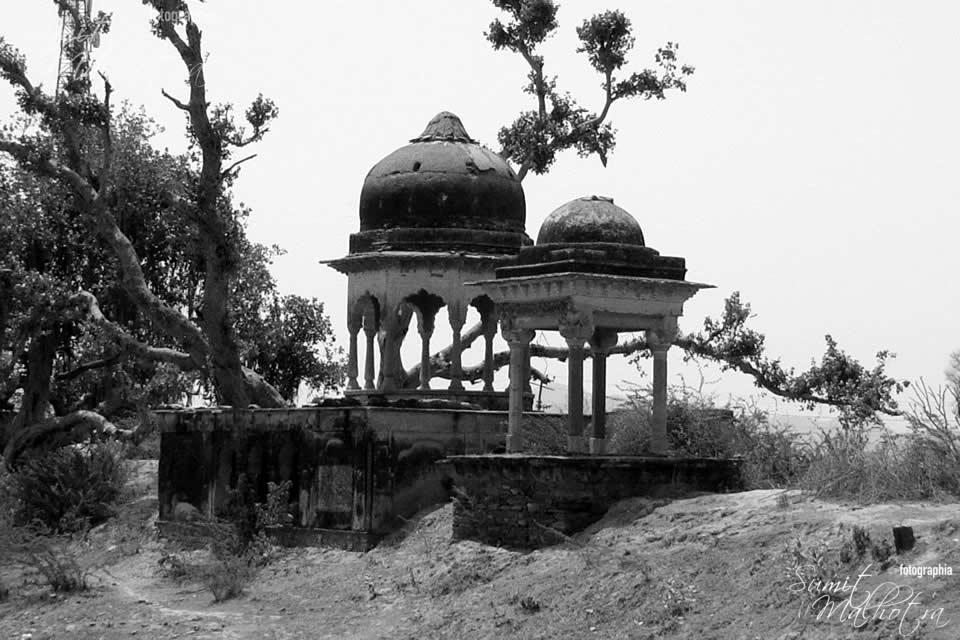 Chattris in Rajasthan