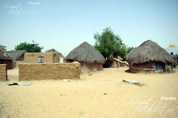 Dandkala Village Rajasthan. Quaint, serene and welcoming.