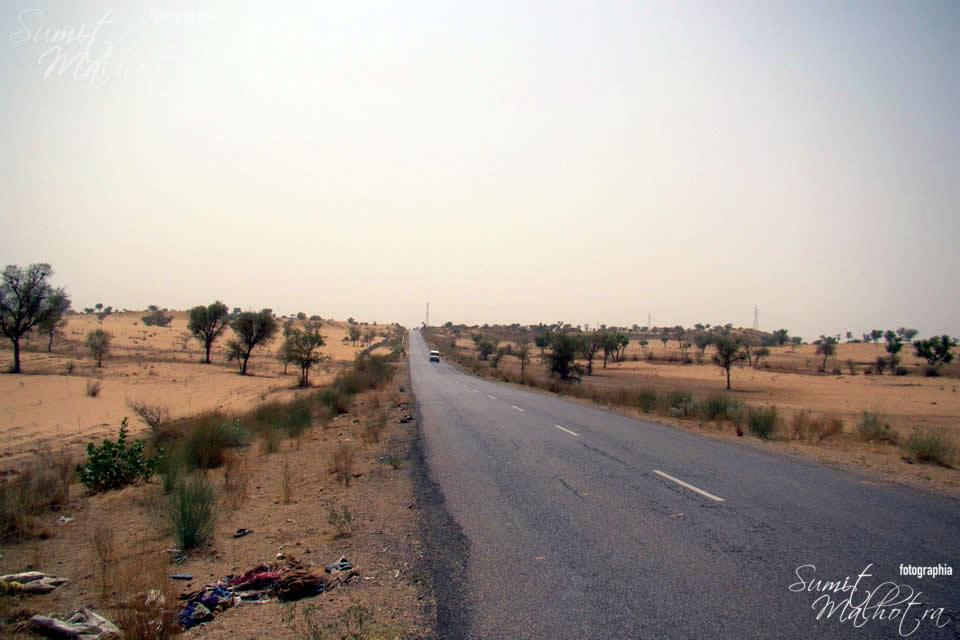 Desert Enroute Bikaner