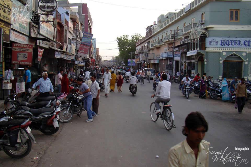 Main Bazaar at Bikaner