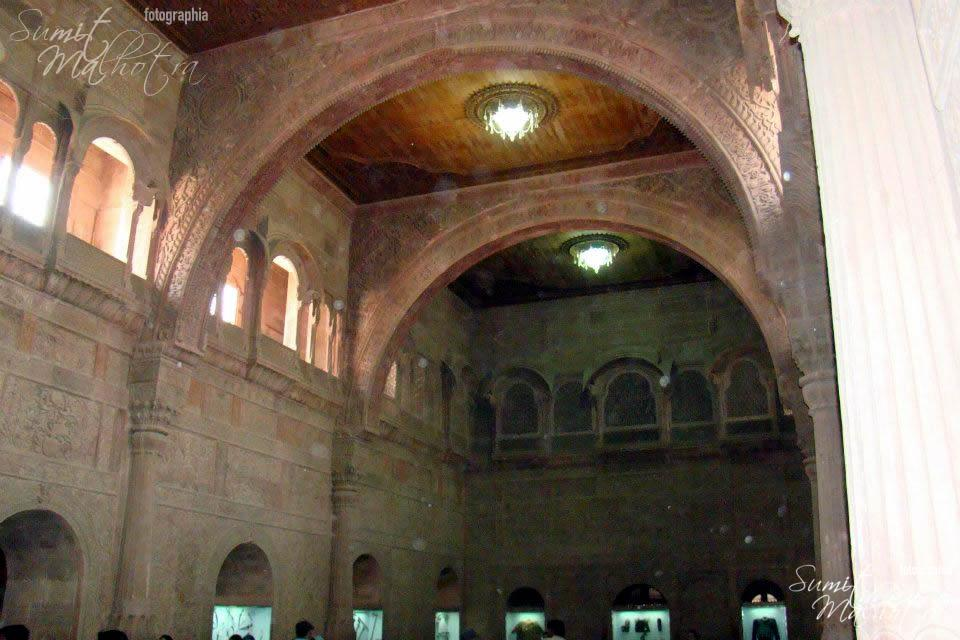 Main Hall at Junagarh Fort