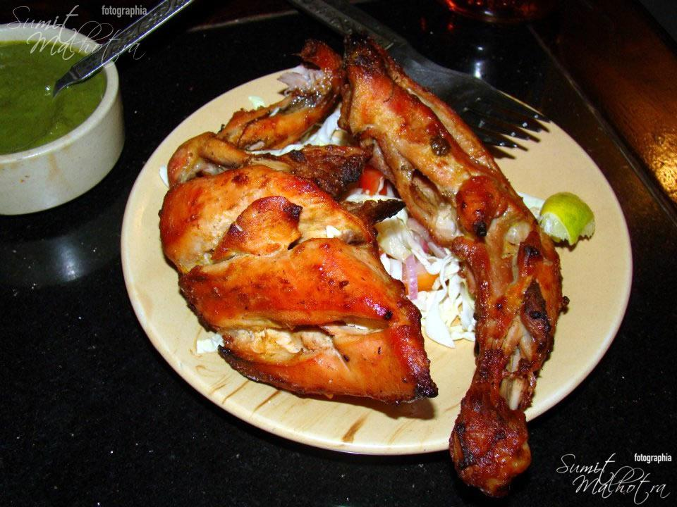 Tandoori Chicken at Harasar Haveli