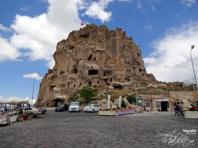Uchisar Castle - One of top things to do in Cappadocia