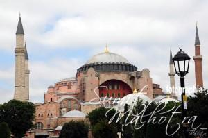 Hagia Sophia, Istanbul. A church that was a mosque and now a museum