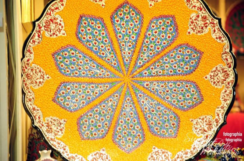 Patterned Ceramic Plate at Grand Bazaar, Istanbul