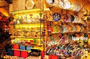 Ceramics Wares in Grand Bazaar
