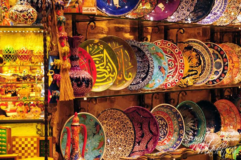 Ceramics in Grand Bazaar