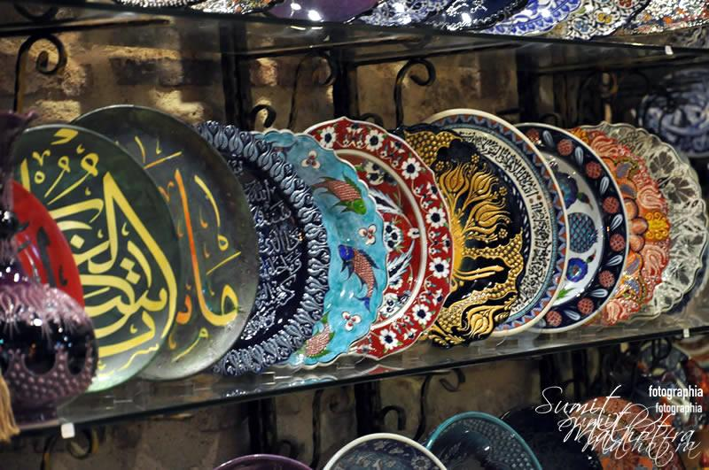 Ceramic Plates at Grand Bazaar