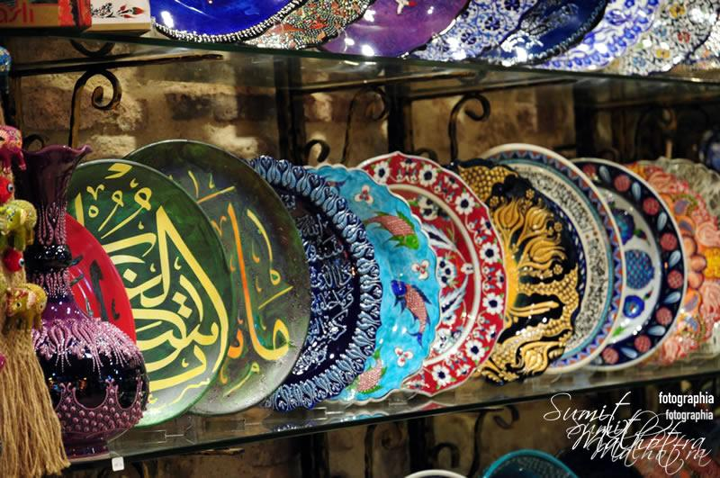 Ceramics in the Grand Bazaar, Istanbul