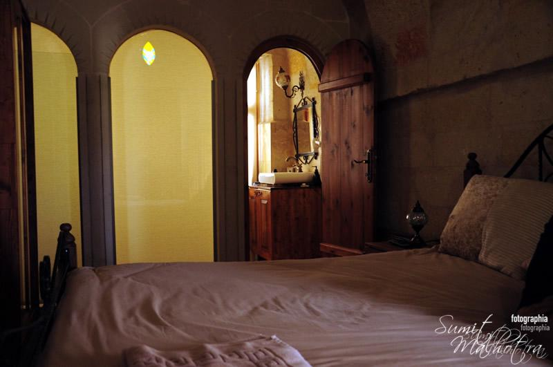 A Double Room at Castle Inn, Cappadocia
