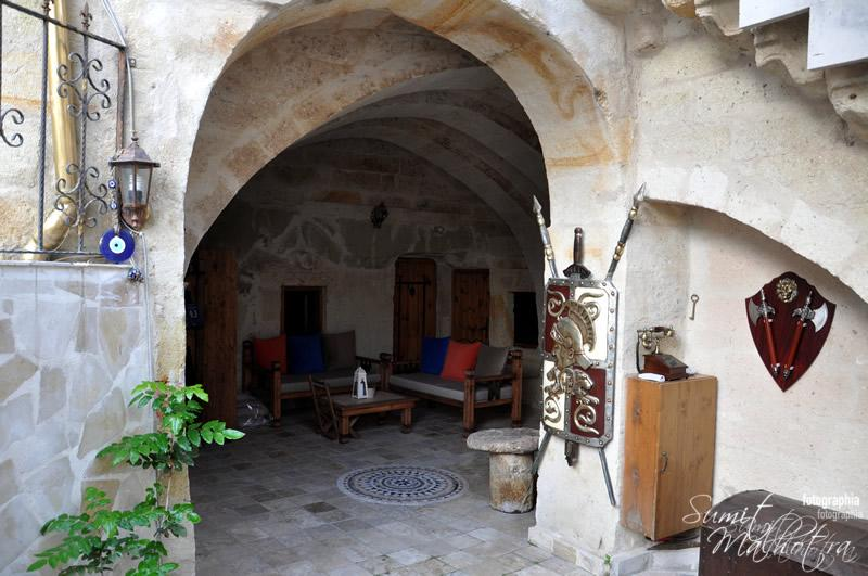 Lounge at Castle Inn, Cappadocia