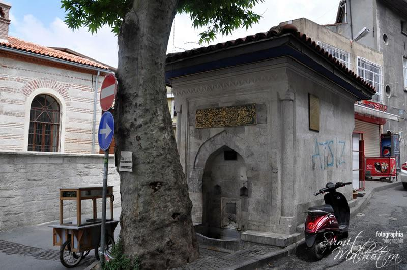 Water faucet stations, istanbul