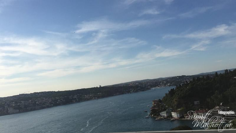 First view of the Bosphorus