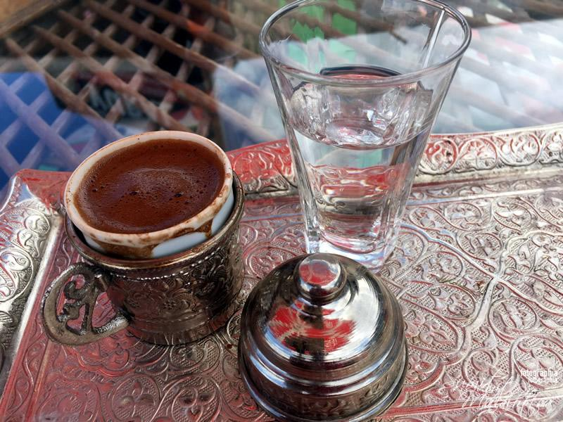 Turkish Coffee at Uchisar Castle, Cappadocia
