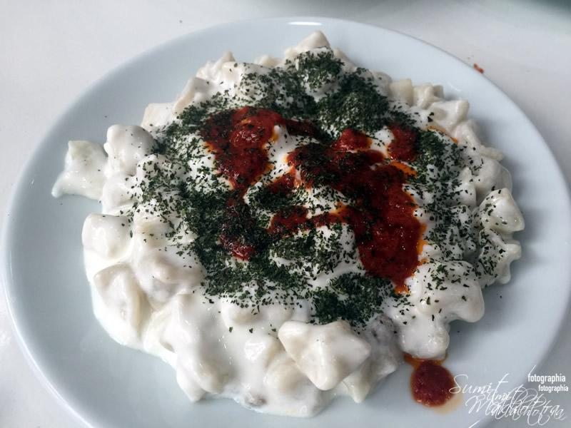 Turkish Ravioli at Avanos
