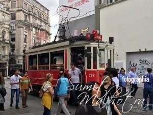 Tram at Istiklal Street, Istanbul