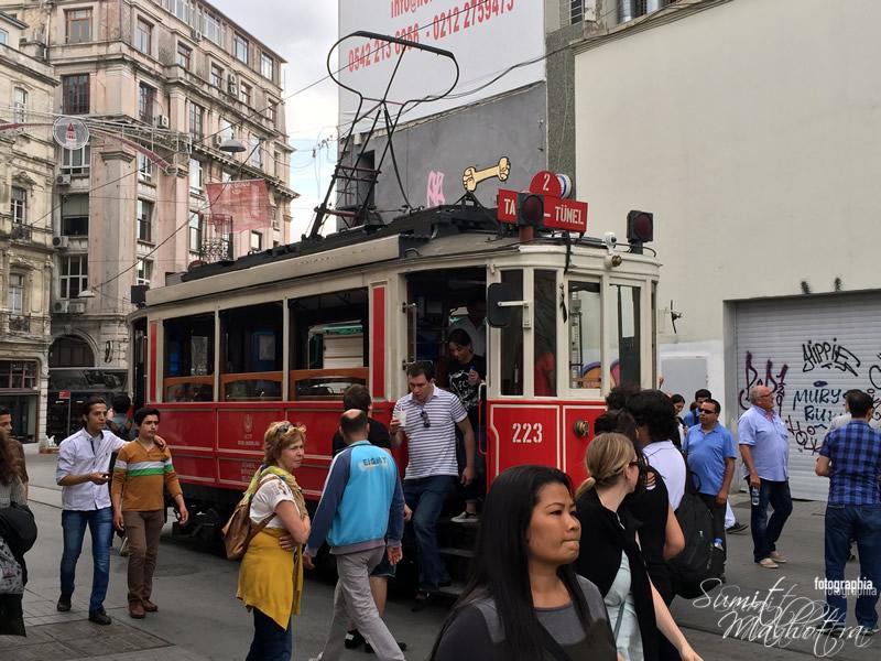 Istikal Street Tram