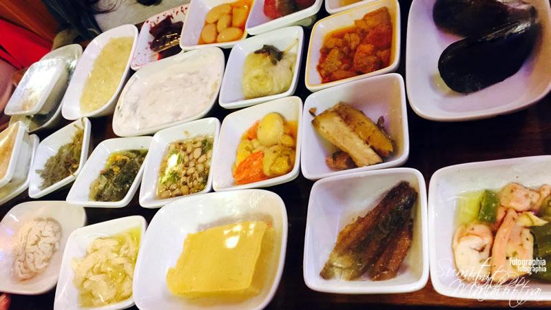 Meze Presented for Selection